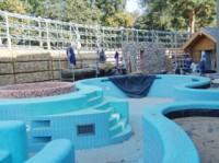"""""""Druskonio"""" fotokorespondentas rugsėjo 19-ąją įsitikino, jog Vandens pramogų parko pirčių komplekse jau regimos pabaigtuvės."""